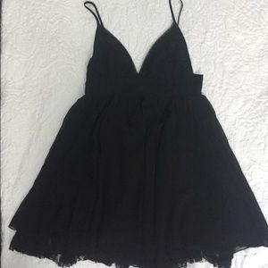 Sparkle and Fade Mini babydoll dress.